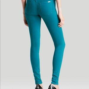 Joes jeans high waist teal size 25